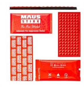 MAUS STIXX - Fire Suppression Sticker #5 - 1301-30