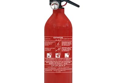 Extintor ABC PÓ QUIMICO de 1 KG - EXTABC001KG