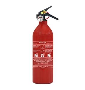 Extintor ABC PÓ QUIMICO de 1 KG Aluminio - EXTABC001KGALU