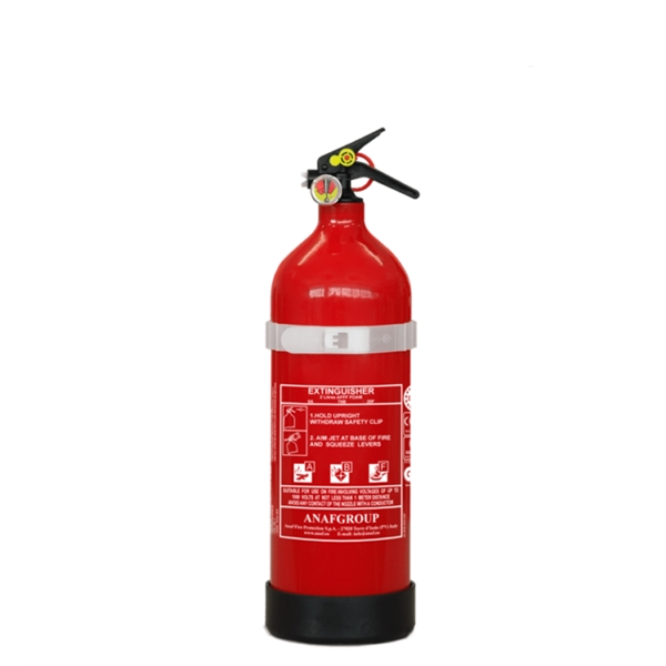 Extintor ABC PÓ QUIMICO de 2 KG Aluminio - EXTABC002KGALU