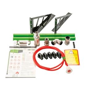 EXXFIRE Kit de montagem M2 montado rack - EXX-KITMONTAGEM2
